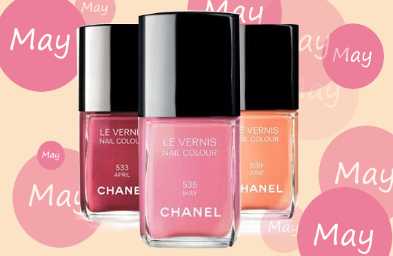 chanel may nail polish giveaway